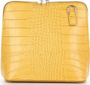 Żółta torebka VITTORIA GOTTI na ramię