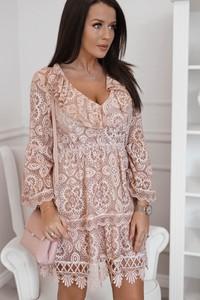 Sukienka Rose Boutique z bawełny z długim rękawem