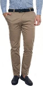 Brązowe spodnie Recman