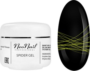 NeoNail Spider Gel 5 g - Neon Yellow