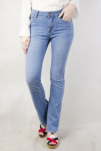 Olika spodnie jeansowe z rozszerzaną nogawką