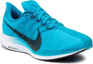 Niebieskie buty sportowe Nike pegasus