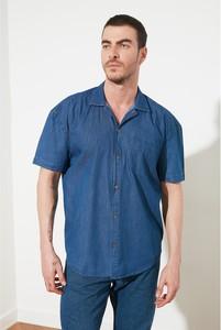 Niebieska koszula Trendyol w stylu casual