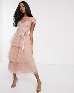 Różowa sukienka Forever U