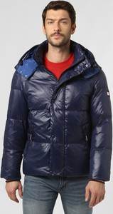 Niebieska kurtka Tommy Hilfiger w stylu casual