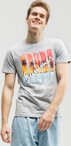 T-shirt Up8 z nadrukiem