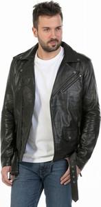 Czarna kurtka David Ryan w stylu casual