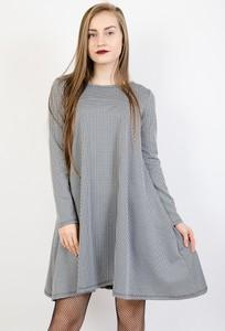 Sukienka Olika oversize mini z okrągłym dekoltem