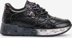 Czarne buty sportowe Gemre.com.pl sznurowane