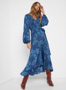 Sukienka ORSAY z dekoltem w kształcie litery v midi