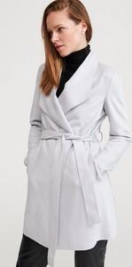 Płaszcz Reserved w stylu casual z zamszu