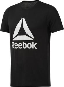 Czarny t-shirt Reebok Fitness