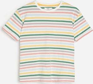 Koszulka dziecięca Reserved dla chłopców w paseczki z krótkim rękawem