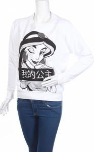 Bluzka Disney w młodzieżowym stylu z okrągłym dekoltem z krótkim rękawem