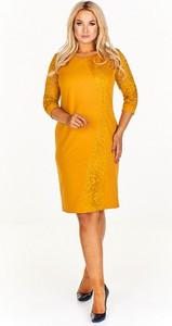 Sukienka BOG-MAR midi ołówkowa