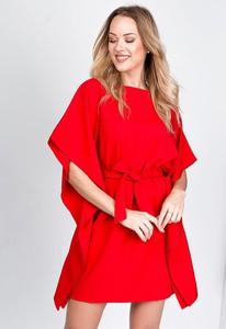 Sukienka ZOiO.pl z okrągłym dekoltem mini