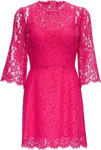 Sukienka Dolce & Gabbana mini z długim rękawem