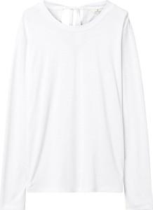 T-shirt Gant z długim rękawem z okrągłym dekoltem