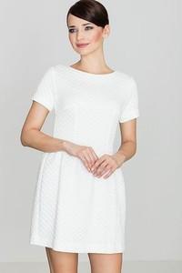 Sukienka LENITIF z okrągłym dekoltem