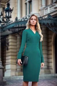 Sukienka Style z długim rękawem