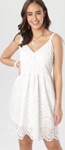 Sukienka born2be mini w stylu casual rozkloszowana