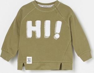 Zielona bluza dziecięca Reserved dla chłopców