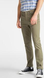 Zielone spodnie Lee Jeans w stylu casual