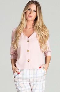 Różowa koszula Figl