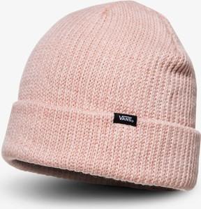 Różowa czapka Vans w stylu casual