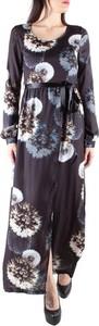 Sukienka Sexy Woman maxi z długim rękawem