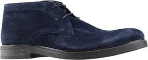 Granatowe buty zimowe Sergio Bardi