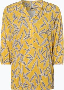Żółty t-shirt Soyaconcept