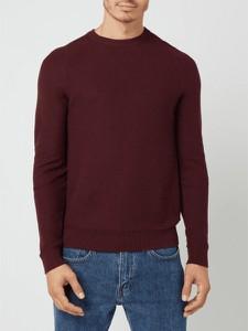 Czerwony sweter Esprit w stylu casual