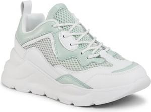 Zielone buty sportowe DeeZee sznurowane