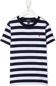 Koszulka dziecięca POLO RALPH LAUREN z krótkim rękawem w paseczki dla chłopców