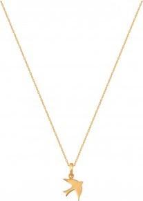 Lovrin Złoty naszyjnik 585 Naszyjnik celebrytka z jaskółką.Możliwość regulacji długości do 42cm.