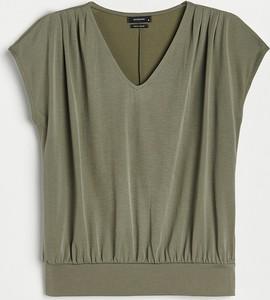 Zielona bluzka Reserved