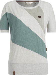 T-shirt Naketano z dresówki w sportowym stylu