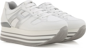 Buty sportowe Hogan na platformie sznurowane