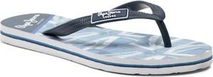 Niebieskie buty dziecięce letnie Pepe Jeans