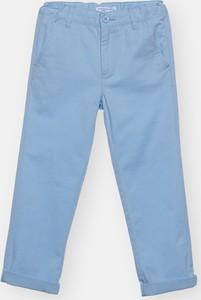 Turkusowe spodnie dziecięce Sinsay