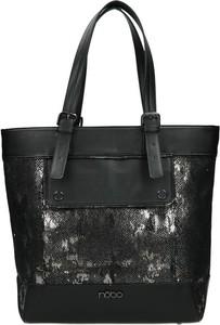Czarna torebka NOBO w stylu casual na ramię