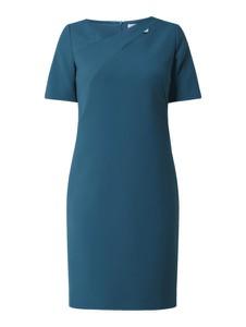 Sukienka Hugo Boss z okrągłym dekoltem mini z krótkim rękawem