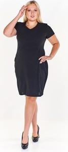 Czarna sukienka Fokus ołówkowa