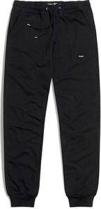Czarne spodnie sportowe Phenotype Streetwear z dresówki w sportowym stylu