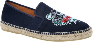 Niebieskie buty letnie męskie Kenzo z tkaniny