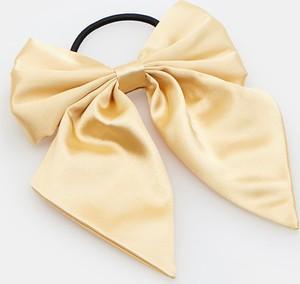 Mohito - Gumka do włosów z kokardą - Żółty