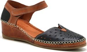 Sandały Manitu na rzepy