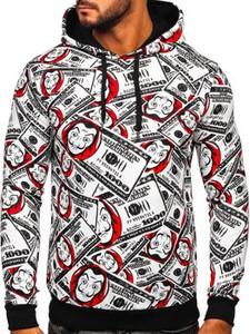 Bluza Denley z bawełny z nadrukiem w młodzieżowym stylu