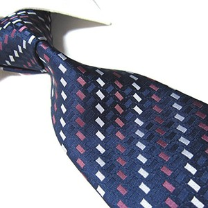 Niebieski krawat towergem